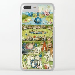 The Garden of Earthly Delights by Hieronymus Bosch Clear iPhone Case
