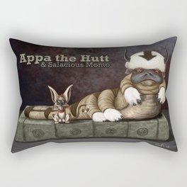 Appa the Hutt and Salacious Momo Rectangular Pillow