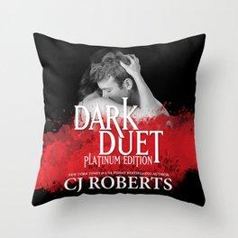 Dark Duet Throw Pillow