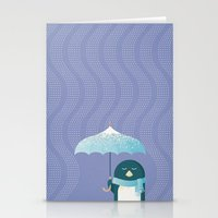 penguin Stationery Cards featuring Penguin by Travel Poster Co.