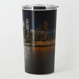 New York Lights III Travel Mug