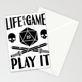 Gamer Cube RPG LARP Tabletop Motivation Gift Stationery Cards