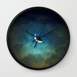 Solar Eclipse 1 Wall Clock