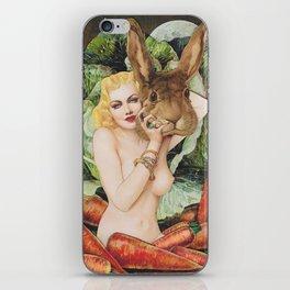 Vegan Bunny iPhone Skin