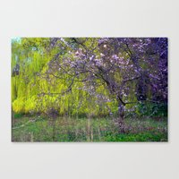 monet Canvas Prints featuring influence: monet by EnglishRose23