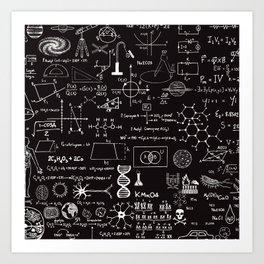 Science Madness Art Print