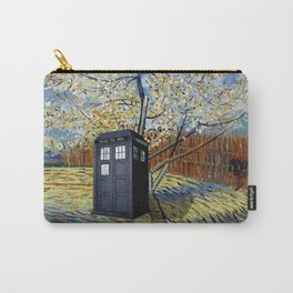 Starry Night of Tardis Carry-All Pouch