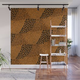 Mixed Animal Print In Color Wall Mural
