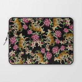 Leopard black Laptop Sleeve