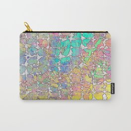 Pastel Abstract Blocks Carry-All Pouch