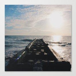 Endless Pier Canvas Print