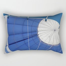 Blue Rectangular Pillow