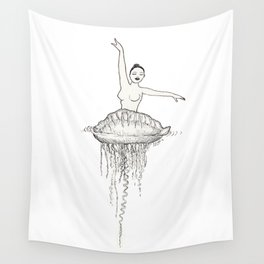 Ballet dancer Wall Tapestry