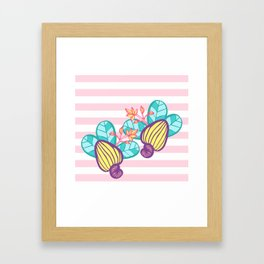 Candy Cashew Apple 1 Framed Art Print