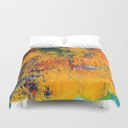 Imaginaere Landschaft II abstrakte Malerei Duvet Cover