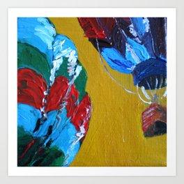 Colorful Skies - Panel 4 Art Print