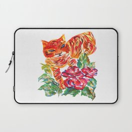 Tiger Roses Laptop Sleeve