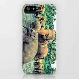 Pinnawala - Sri lanka iPhone Case