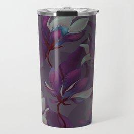 magnolia bloom - nighttime version Travel Mug
