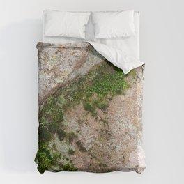 Yin Yang Moss Stone Duvet Cover