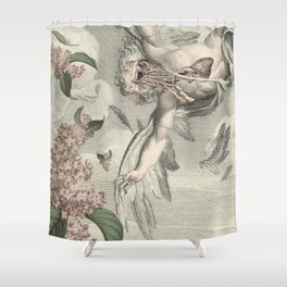 OVER AMBITIOUS Shower Curtain