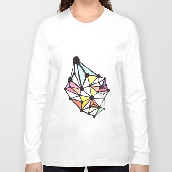 Network Color 1 Long Sleeve T-shirt
