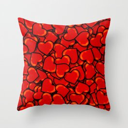 Soft-Hearted Throw Pillow