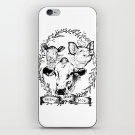 Friends Not Food iPhone Skin