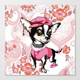 doggy style Canvas Print