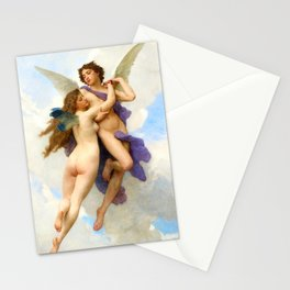 Love & Psyche 1899 by William-Adolphe Bouguereau Stationery Cards