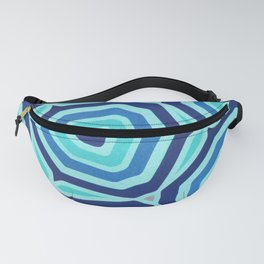 Bet on Blue - Abstract Circles Fanny Pack