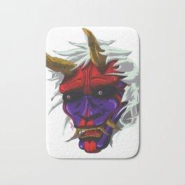 oni red demon Bath Mat