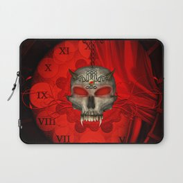 Awesome skull with celtic knot Laptop Sleeve