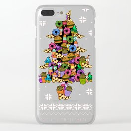 I want for Christmas is Food Clear iPhone Case
