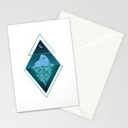 Iceberg Geometric Stationery Cards