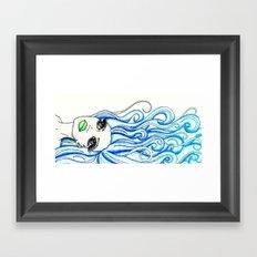 Lady of the Sea Framed Art Print