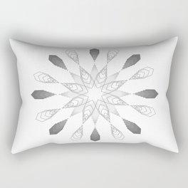 Complexity Rectangular Pillow