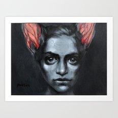 Ears are swelling Art Print