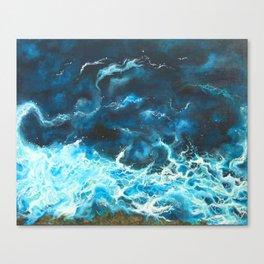 Blue Symphony Canvas Print