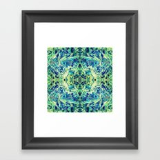 GRASS GODDESS Framed Art Print