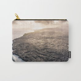 Lava Fields view Big Island Hawaii Carry-All Pouch