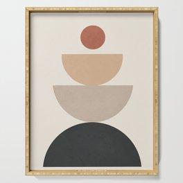 Geometric Modern Art 31 Serving Tray