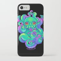 cthulhu iPhone & iPod Cases featuring Cthulhu by Gunkiss