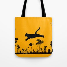 The Cat and Ink drop bombs Tote Bag