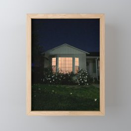 Home Framed Mini Art Print