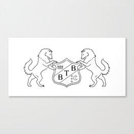 Barton Full Decorative Crest Canvas Print