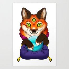 All-Seeing Art Print