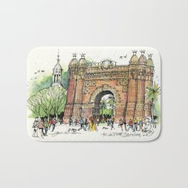 Arc de Triomf, Barcelona Bath Mat
