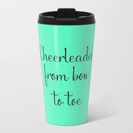 Cheerleader - Mint Travel Mug