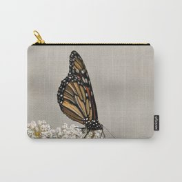A Fine, Upstanding Monarch Carry-All Pouch